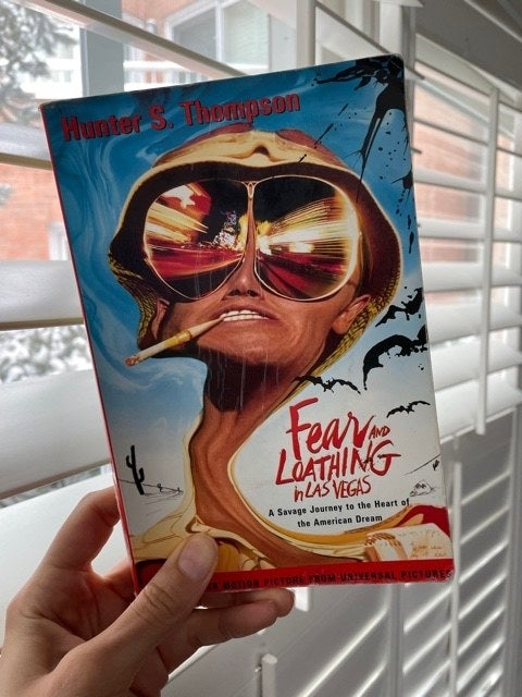 The cover of fear and loathing in las vegas