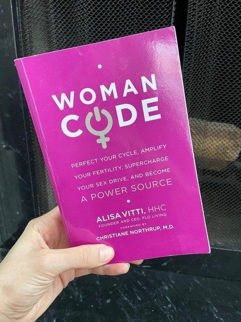 The cover of Alisa Vitti's Womancode