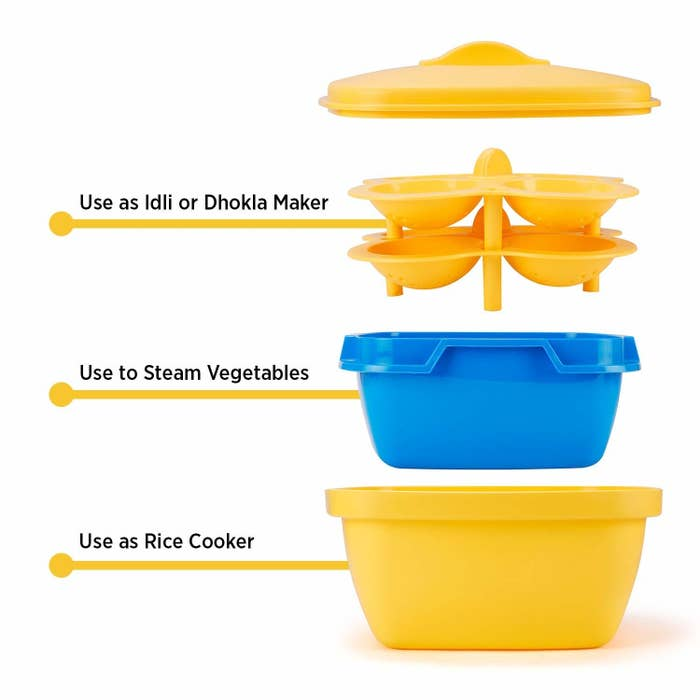 Various uses of the microwave steamer