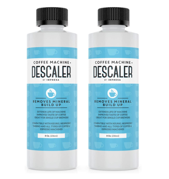 Two bottles of descaler solution