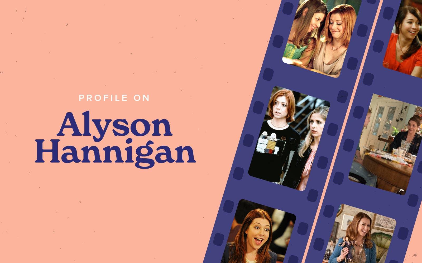 """Profile On"" Alyson Hannigan header"