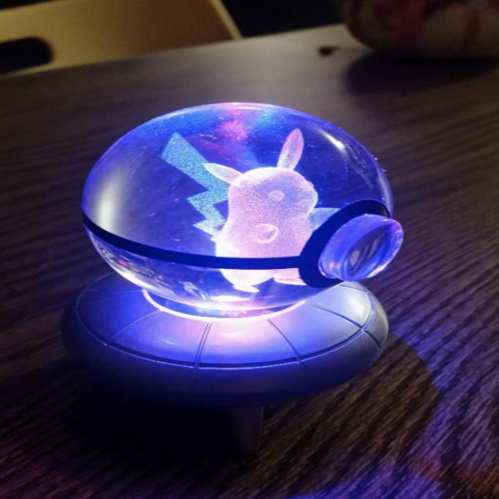 reviewer image of pikachu night light