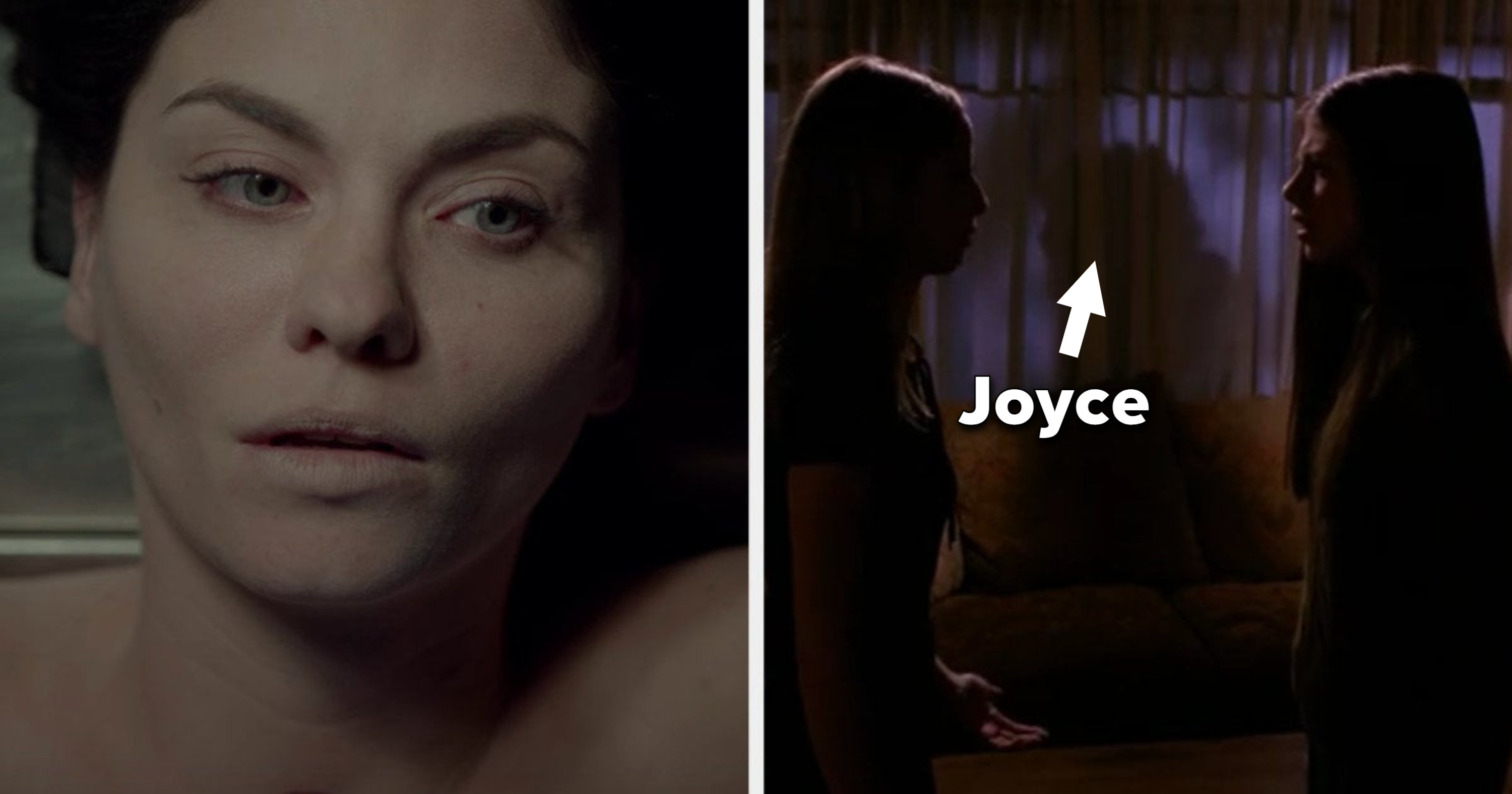 Jo waking up and Joyce as a sort of zombie in the background