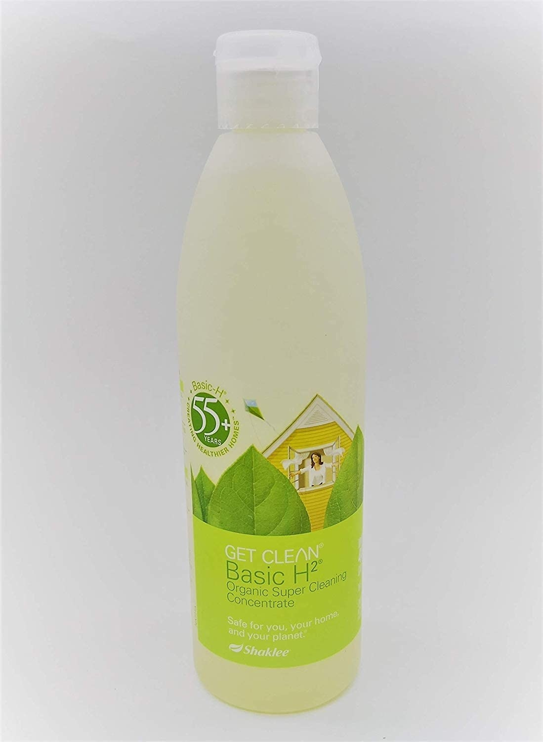 Cleaning product in bottle