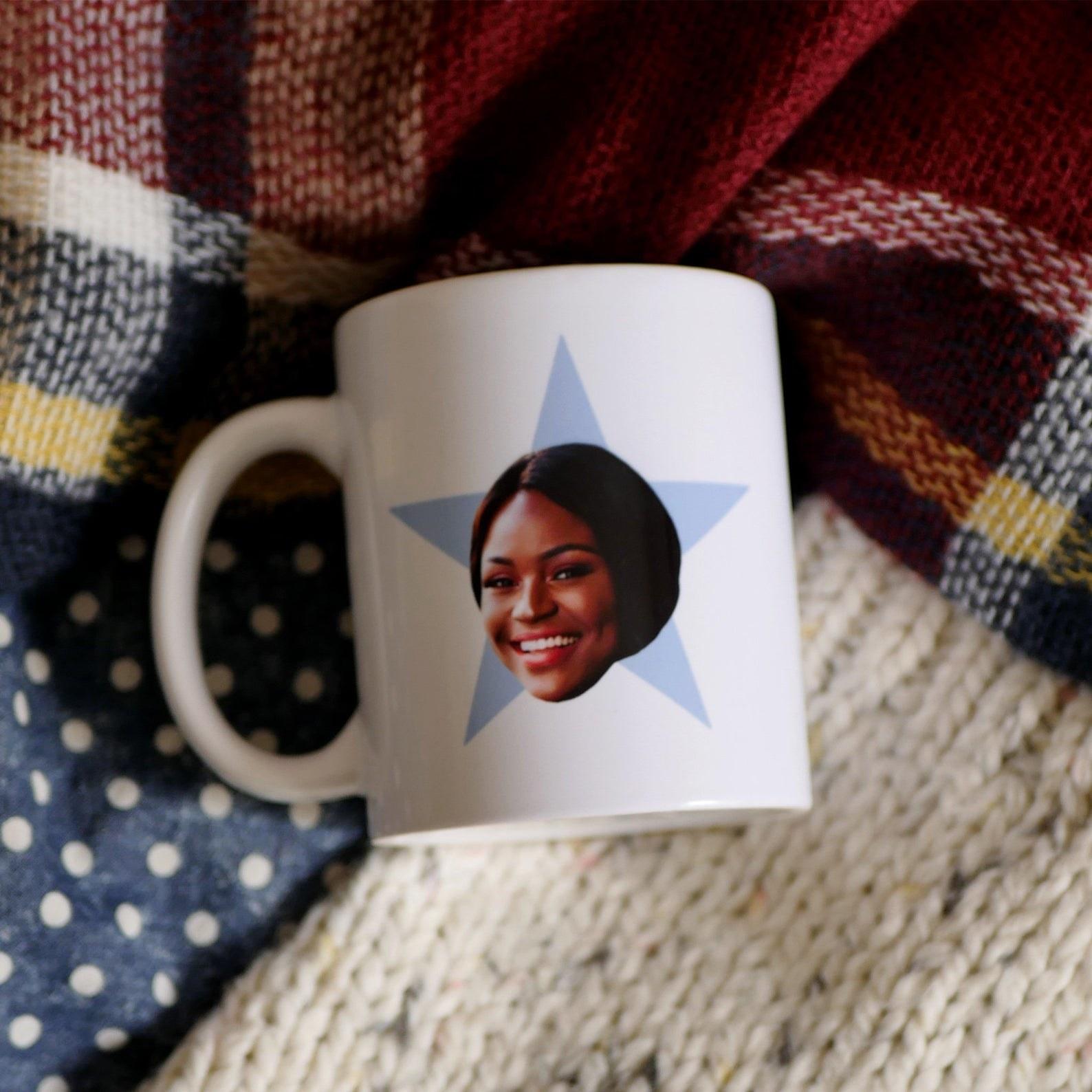 personalized star mug