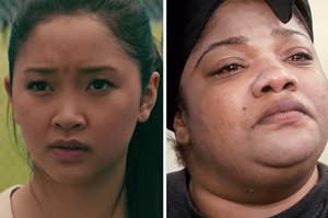 """Lana Condor in """"To All the Boys I've Loved Before"""" and Mo'Nique in """"Precious"""""""