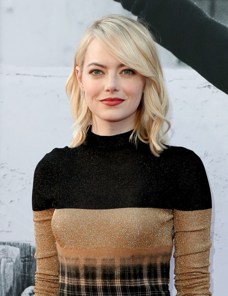 Emma Stone at the American Film Institute's 45th Life Achievement Award Gala Tribute to Diane Keaton