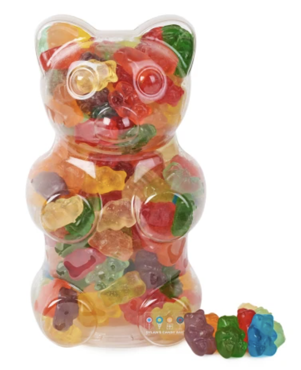 gummy bear filled with gummy bears