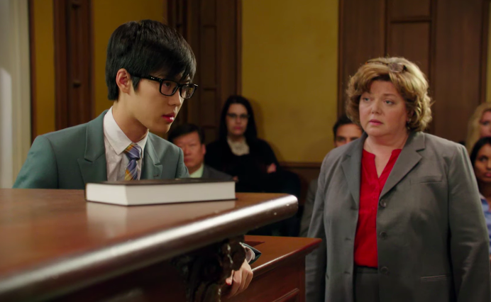 """lawyer questioning Winston from """"Degrassi"""""""