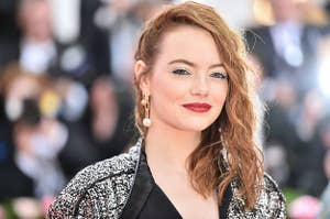 Emma Stone at The 2019 Met Gala