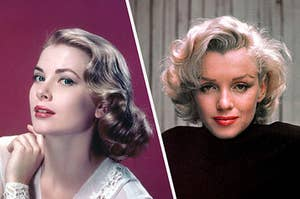 Grace Kelly and Marilyn Monroe