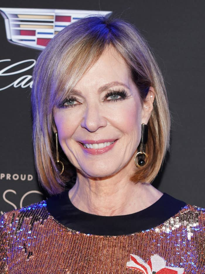 Allison Janney attends an Academy Awards event at Chateau Marmont in Los Angeles in 2020