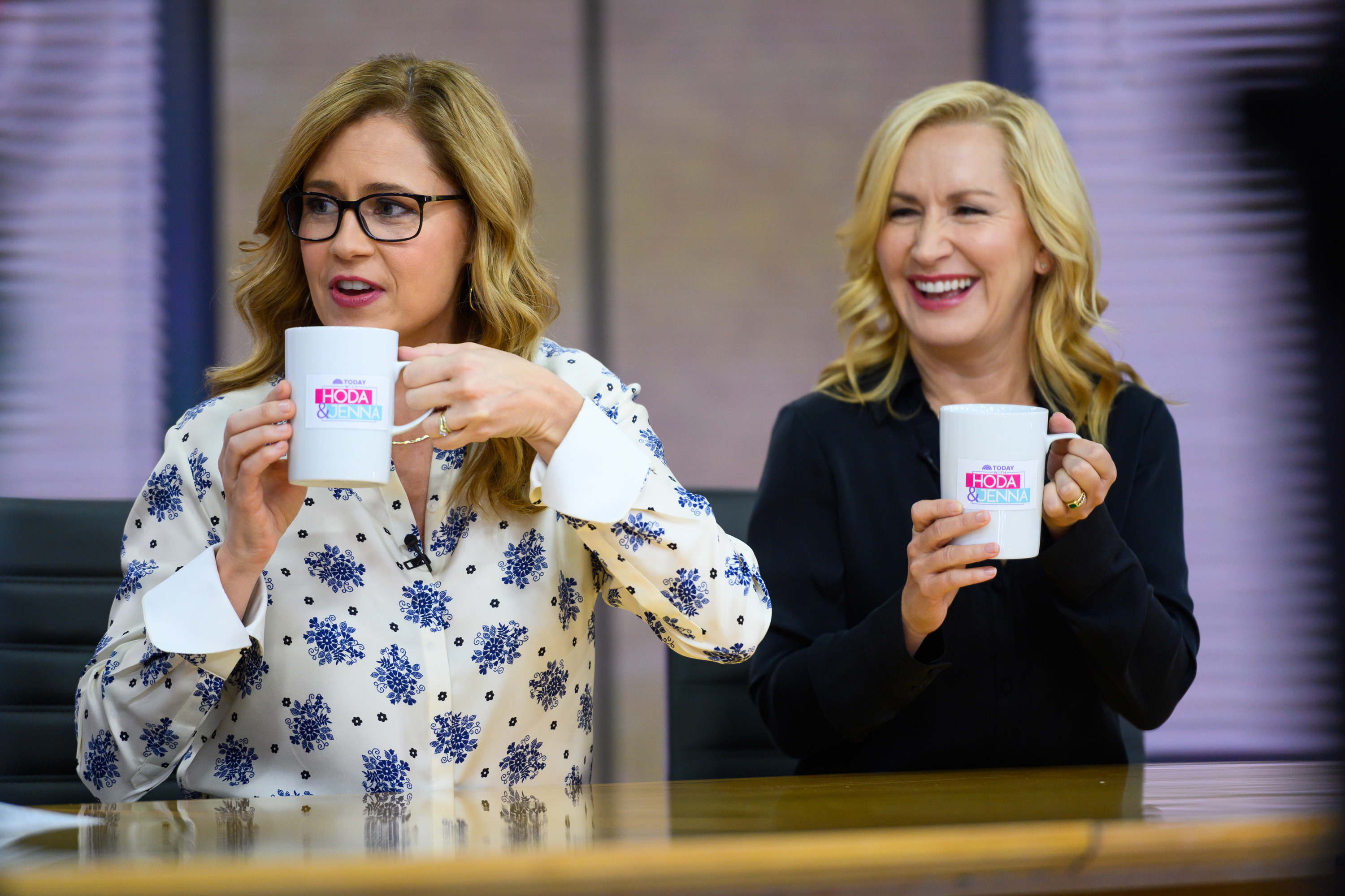 Jenna Fischer and Angela Kinsey on the TODAY Show