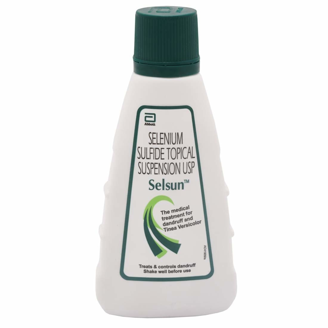 Bottle of the anti-dandruff shampoo