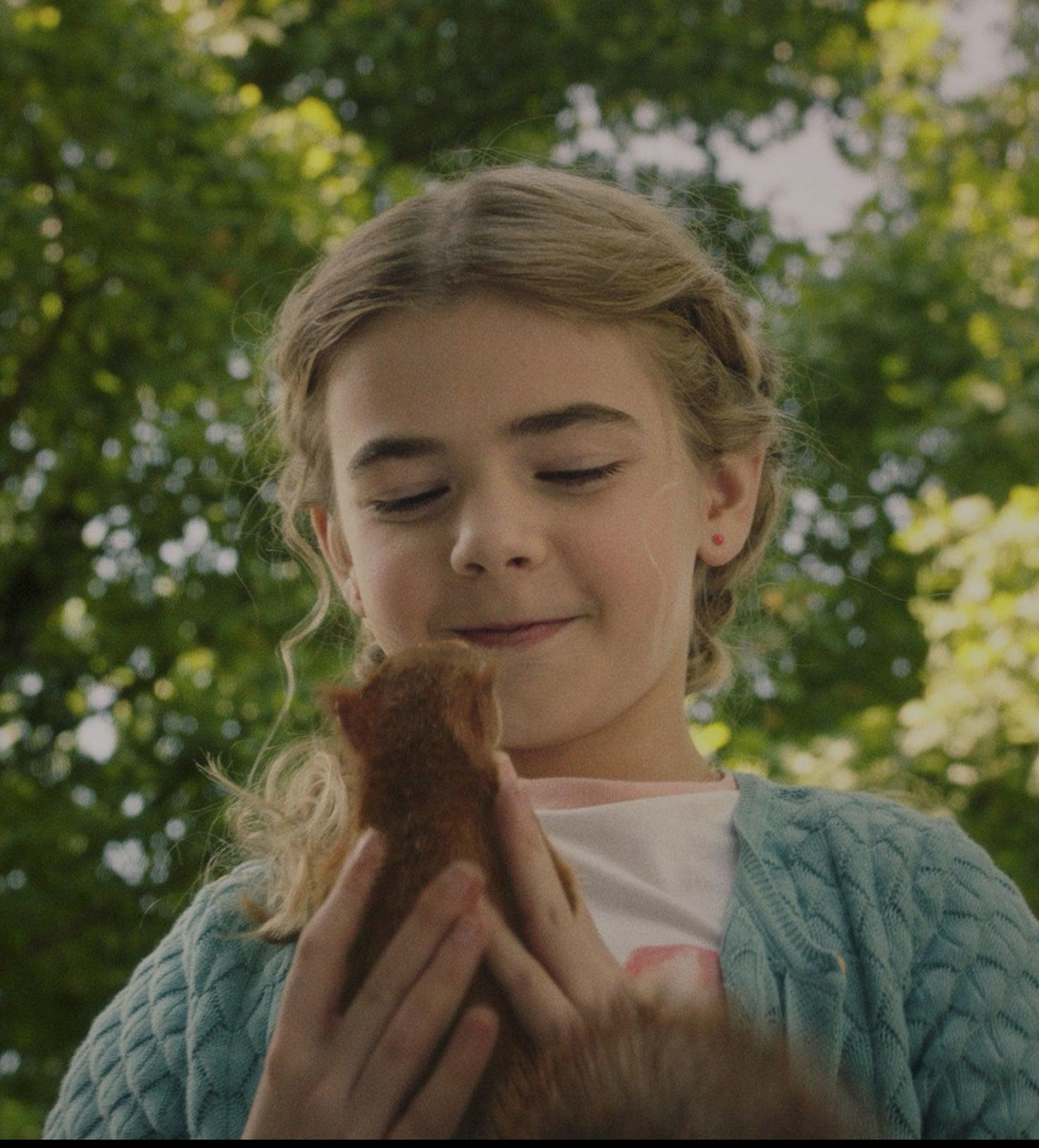 "Matilda Lawler as Flora in ""Flora & Ulysses"""