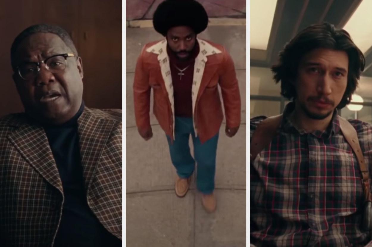 """Three looks from """"BlacKkKlansman"""""""