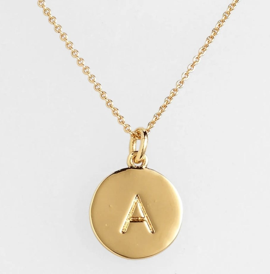 The initial pendant necklace