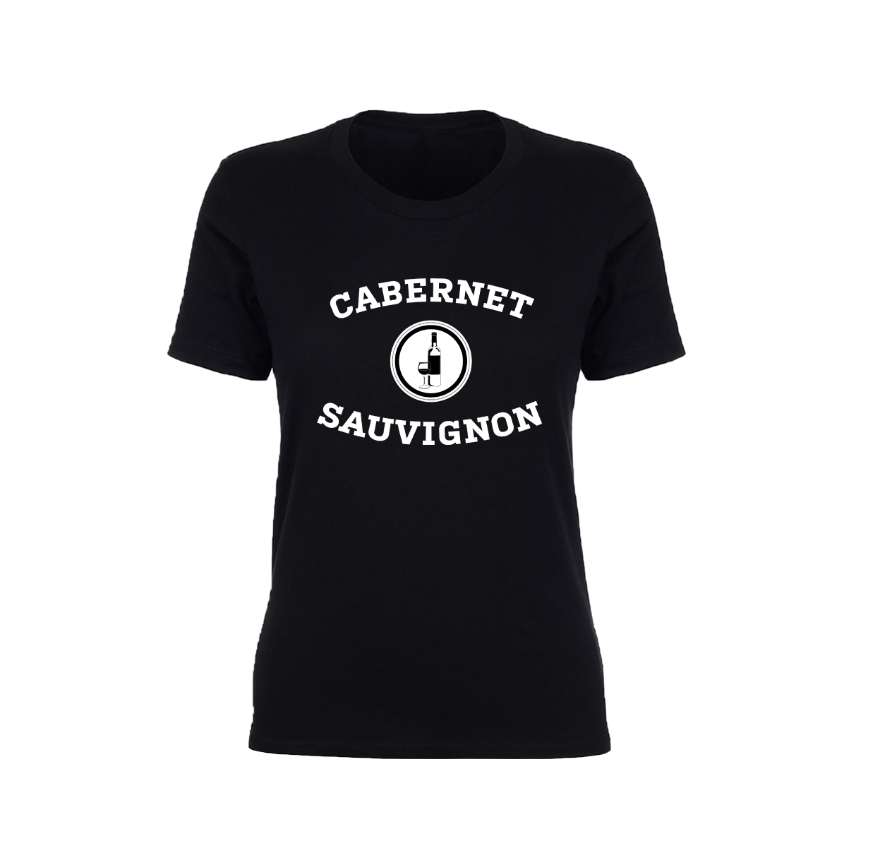 the black buzzfeed cabernet sauvignon collegiate t-shirt