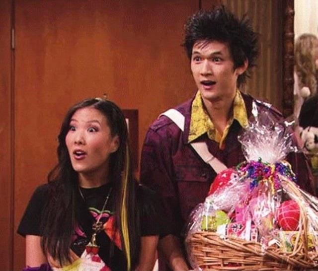 "Harry Shum Jr as Yuki, next to his fellow internet co-star, Kyoko, in ""iGo to Japan"""