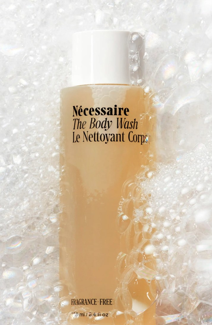 The Nécessaire body wash in fragrance-free
