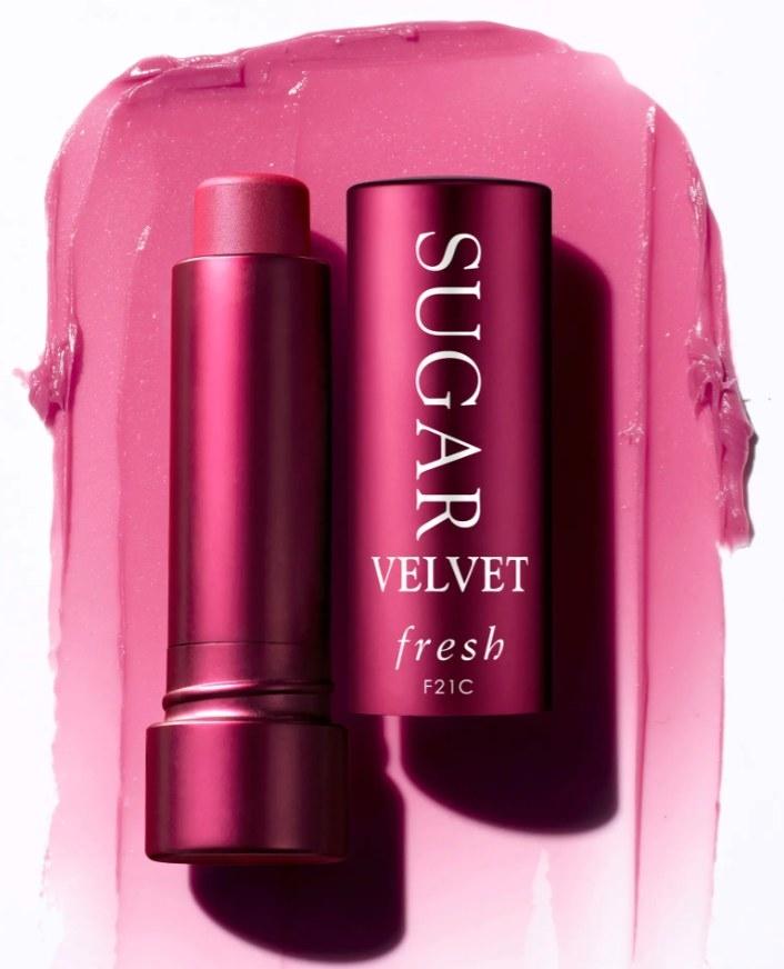 The Fresh sugar lip treatment in velvet