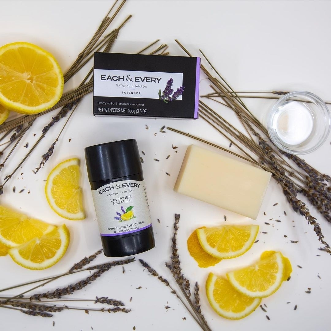 a lavender and lemon deodorant