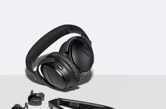 The headphones