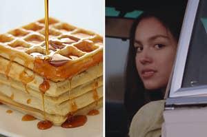 waffles and olivia rodrigo