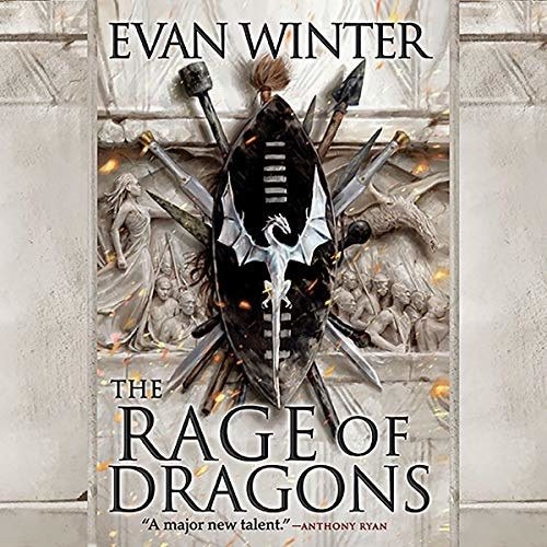The cover of Evan Winter's book The Rage of Dragons