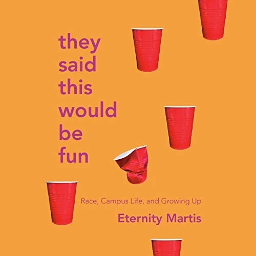 The cover of Eternity Martis' book they said this would be fun