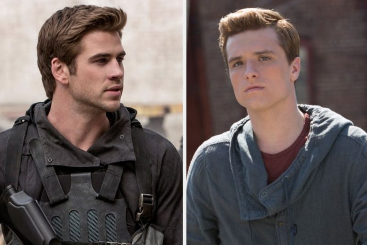 """Gale and Peeta from """"Hunger Games"""""""