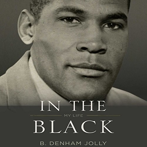 The cover of B Denham Jolly's book In The Black