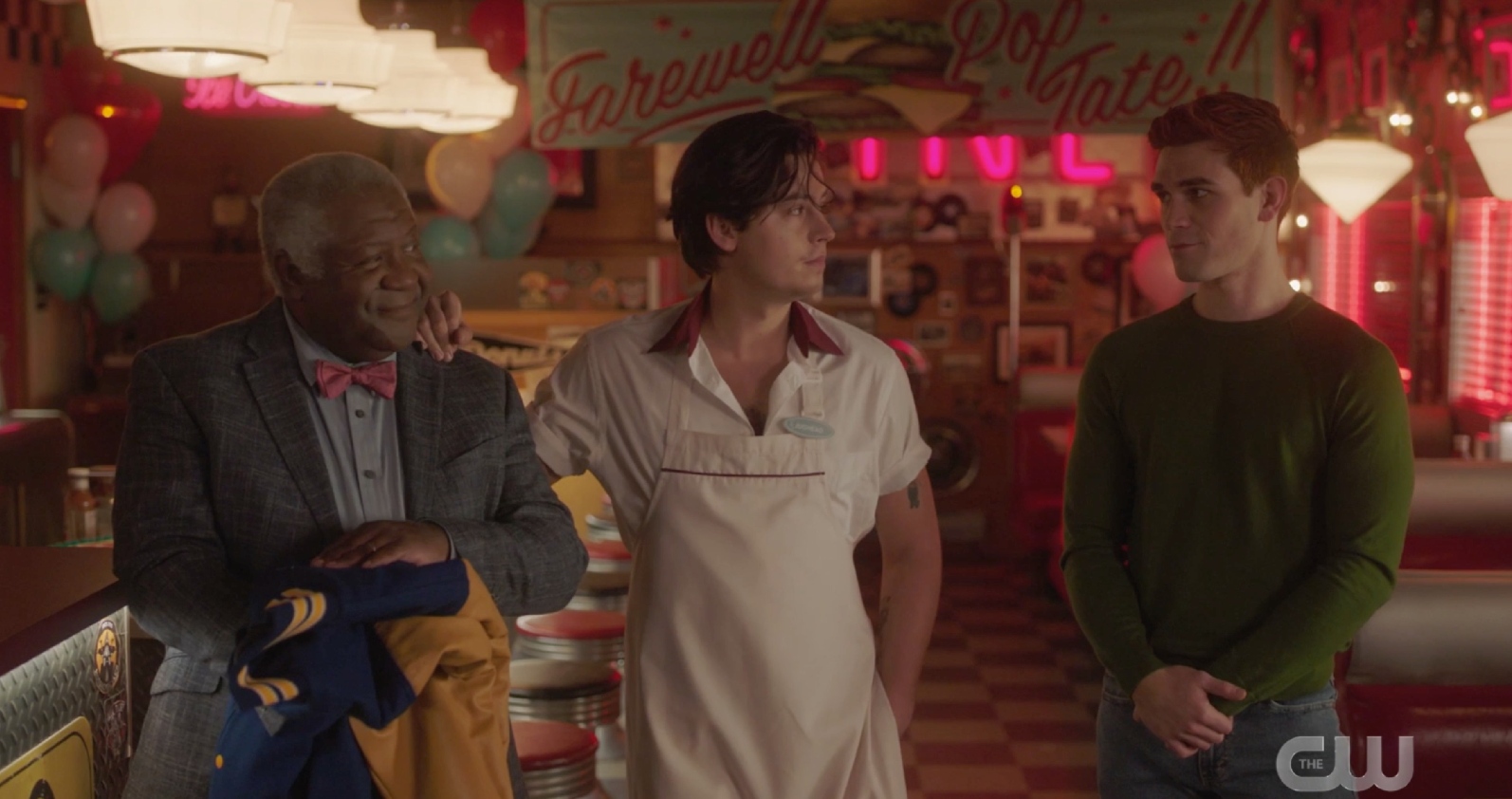 Archie, Jughead and Pop Tate