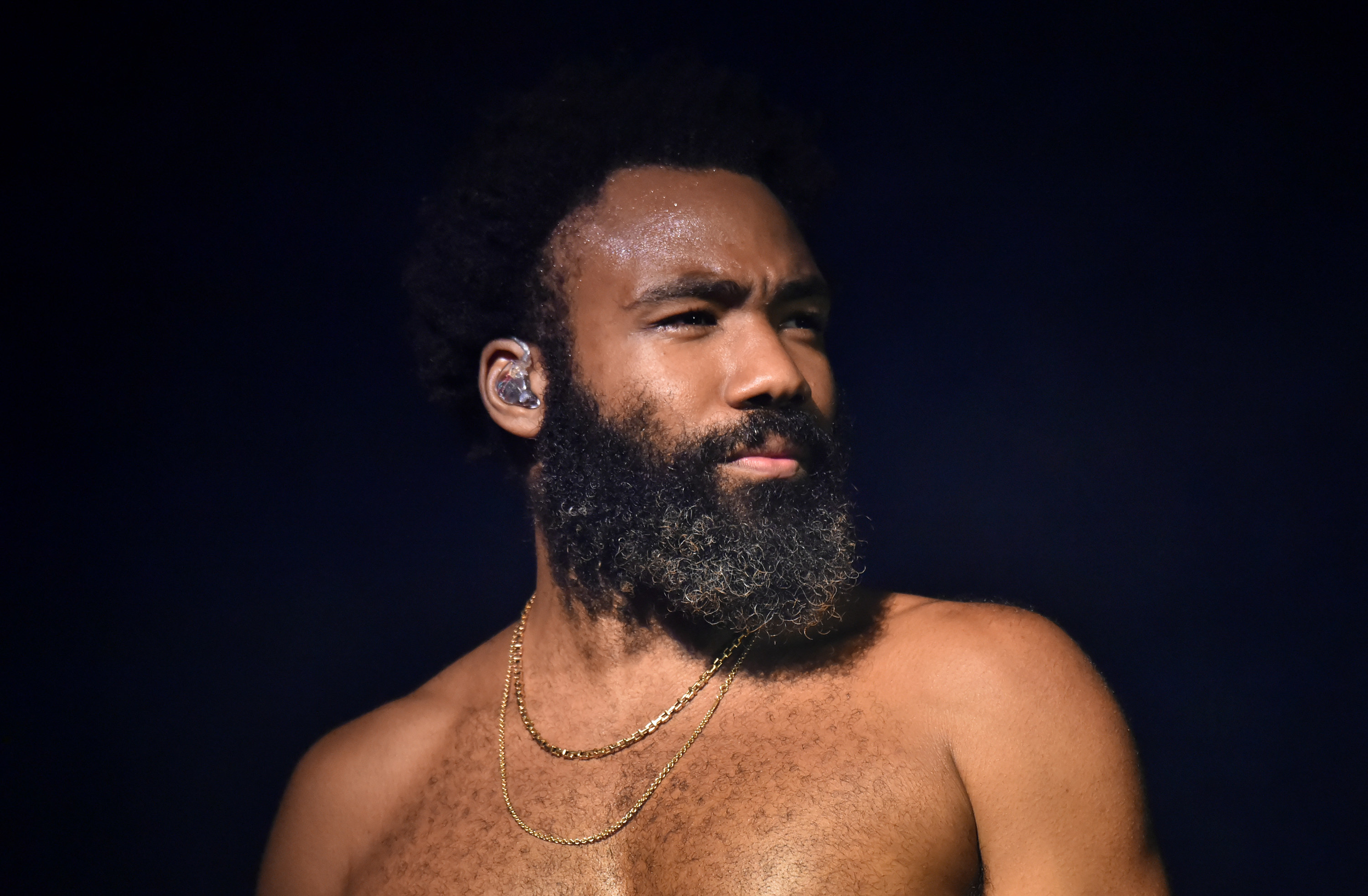 Donald Glover performs as Childish Gambino at the 2019 Outside Lands festival in San Francisco