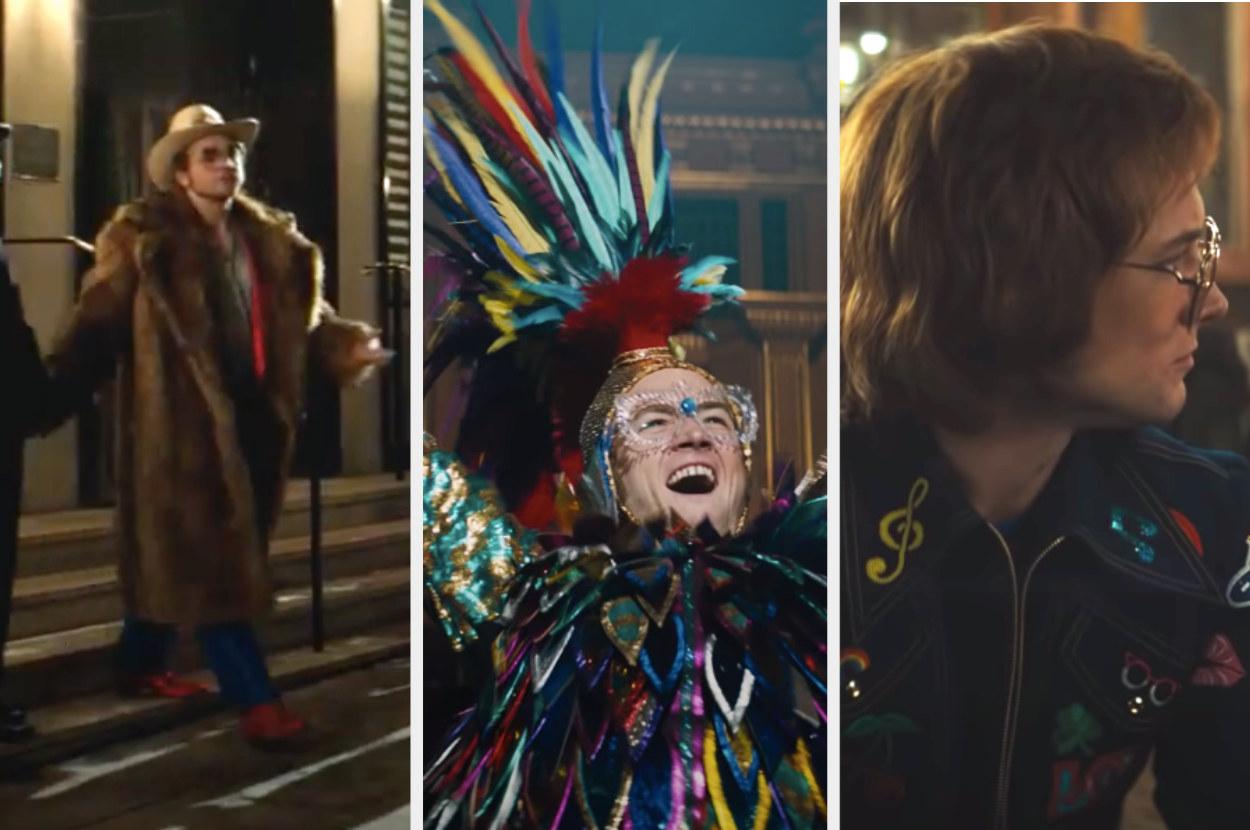 """Three looks from """"Rocketman"""""""