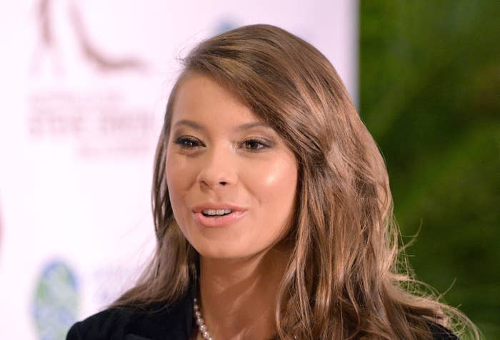 Bindi Irwin at the Steve Irwin Gala Dinner at Brisbane in 2019