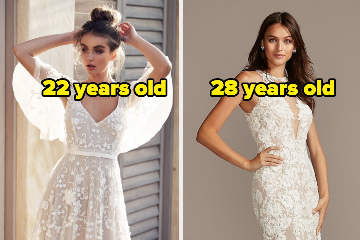 "Here Are 15 Wedding Dresses Say ""I Do"" Or ""I Don't"" To Each, And We'll Reveal What Age..."