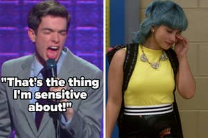 """John Mulaney: """"That's the thing I'm sensitive about"""" alongside Lola from """"Degrassi"""" crying"""