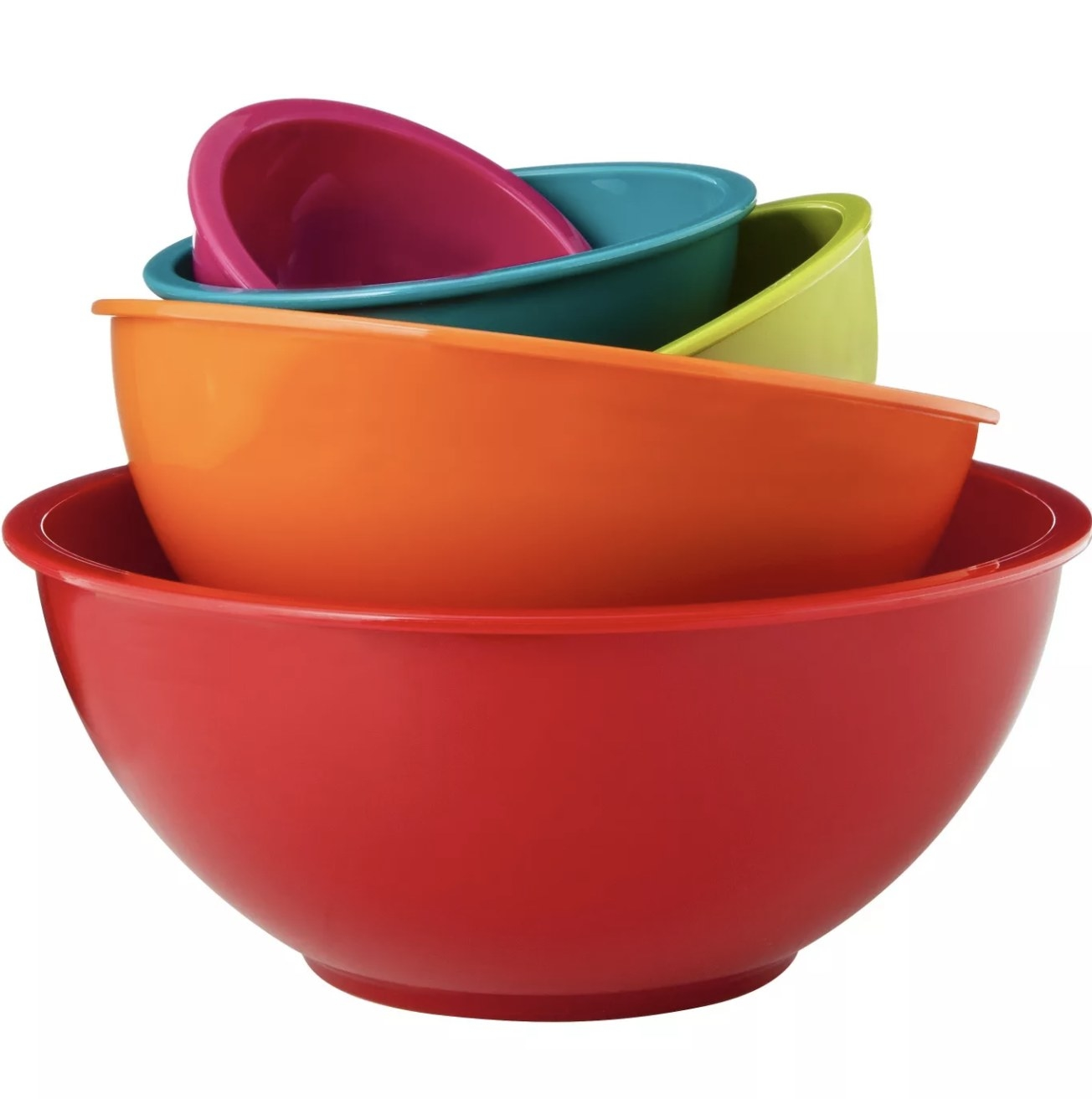 the set of mixing bowls