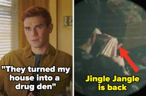 Archie's house is a drug den side by side with jingle jangle