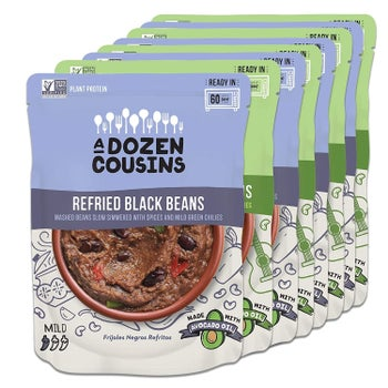 Eight packs of beans