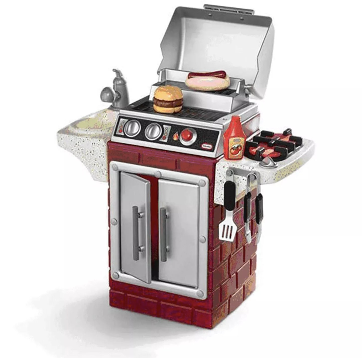 The BBQ toy set