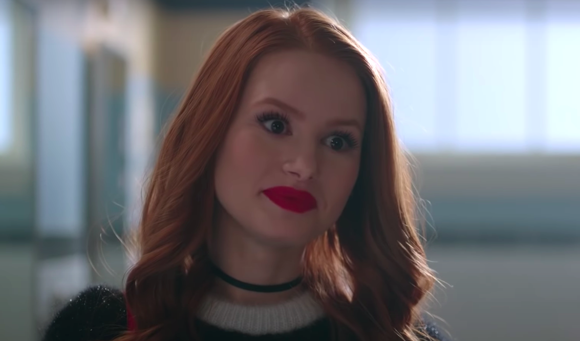 """Cheryl from """"Riverdale"""" looking angry"""