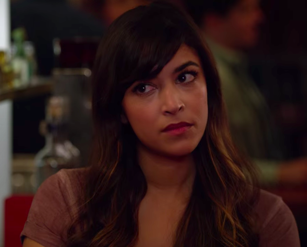 """Cece from """"New Girl"""" looking angry"""