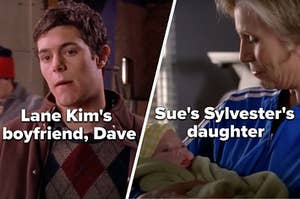 "Dave from ""Gilmore Girls"" and Sue's daughter from ""Glee"""