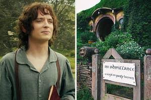 Frodo and Bilbo's home