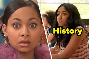 """Raven having a vision and """"History"""""""