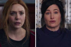 "Elizabeth Olsen and Kathryn Hahn in ""WandaVision"""