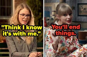 """""""Think I know it's with me"""" lyric and """"You'll end things"""""""
