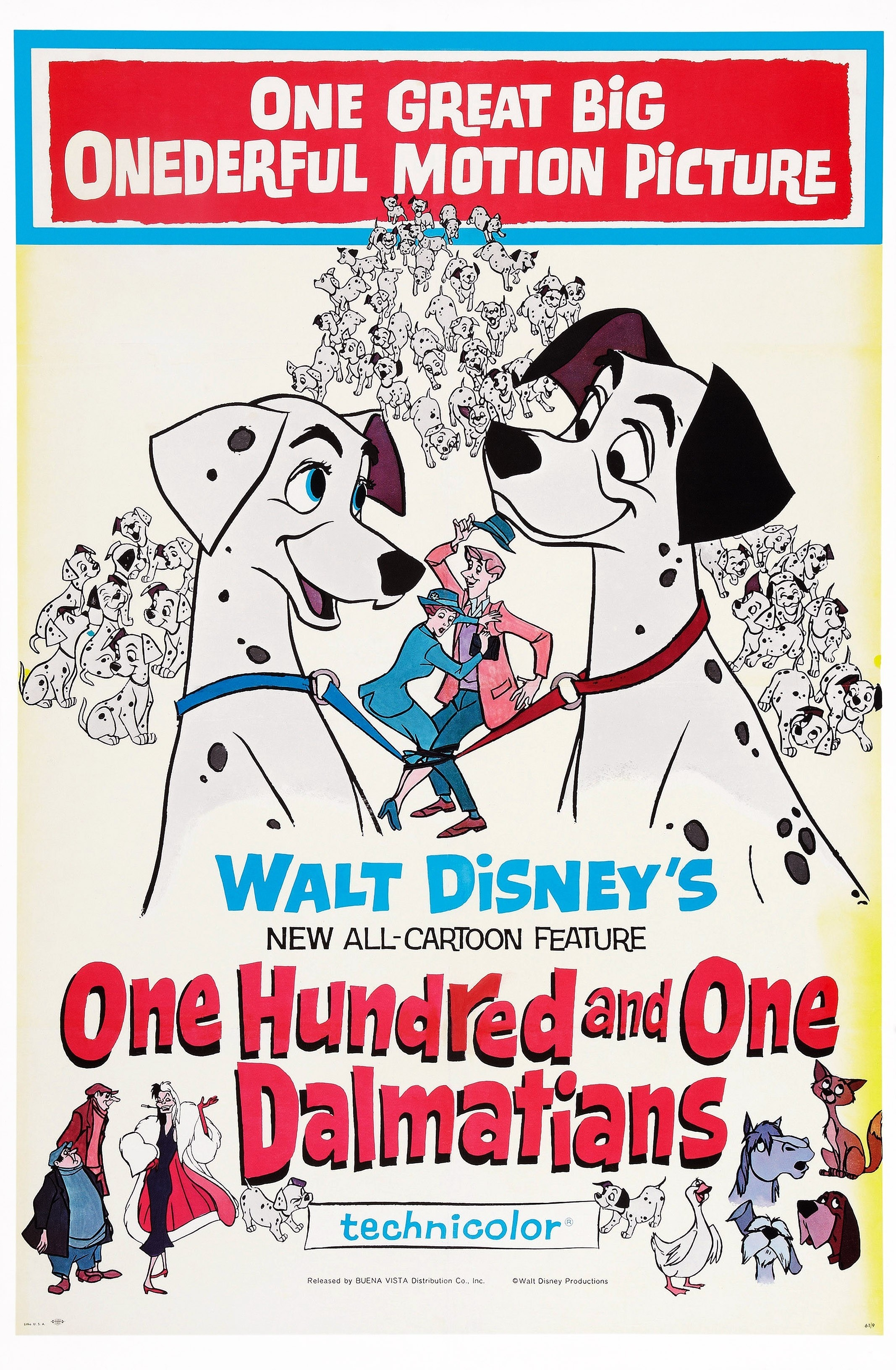 The original One Hundred and One Dalmatians movie preview